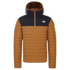Stretch Down Hoodie Men TIMBER TAN/TNF BLACK