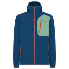 Avok Hoody Men Opal/Grass Green