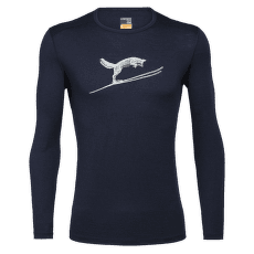 Oasis LS Crewe Fox Jump Men 200 Midnight Navy