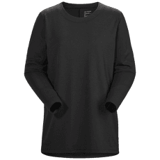 Lumin Swing Top Women Black Heather