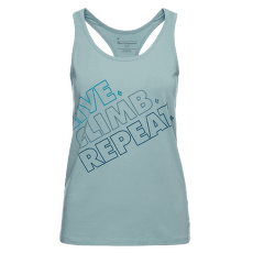 Live.Climb.Repeat. Tank Women Blue Ash