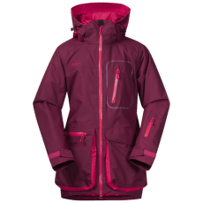 KNYKEN INSULATED YOUTH GIRL JACKET Jam/Dk Sorbet