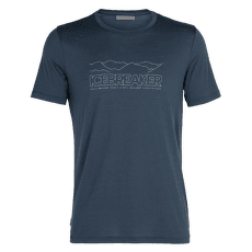 Tech Lite SS Crewe Icebreaker Story Men SERENE BLUE