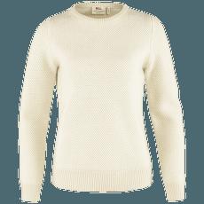 Övik Structure Sweater Women Chalk White