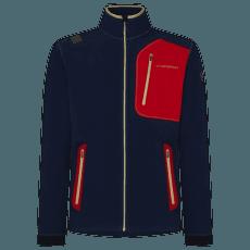 Mantis Jacket Men Night Blue/Tango Red