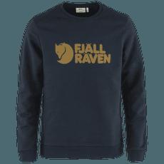 Fjällräven Logo Sweater Men Dark Navy