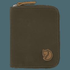 Zip Wallet Dark Olive