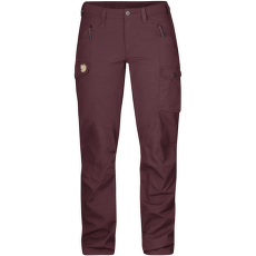 Nikka Trousers Women Dark Garnet
