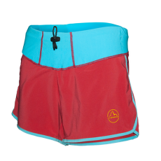 Snap Shorts Women Berry