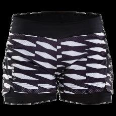 Breakaway Shorts 2 in 1 Women 9120 P TRELLIS BLACK