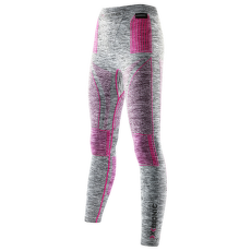 Energy Accumulator EVO Melange Long Pants Women Light Grey Melange/Raspberry