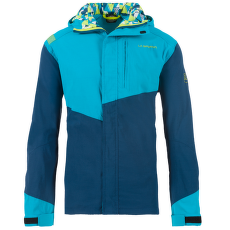 Grade Jacket Men Opal/Tropic Blue