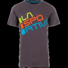 Square T-Shirt Men Carbon/Tropic Bl