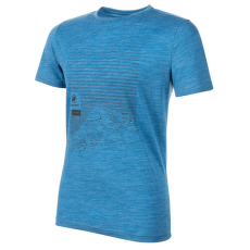 Alnasca T-Shirt Men (1017-01770) gentian melange 50306