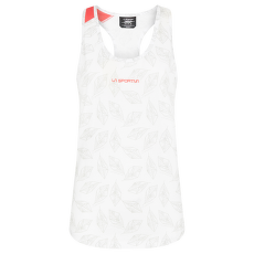 Leaf Tank Women White