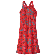 Magnolia Spring Dress Fiber Flora Multi Big: Catalan Coral