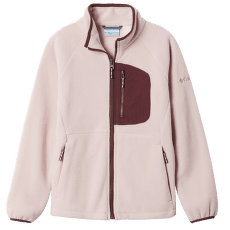 Fast Trek™ III Fleece Full Zip Kids Mineral Pink, Malbec 618