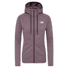 Tech Mezzaluna Hoodie Women ROOT BROWN HEATHER