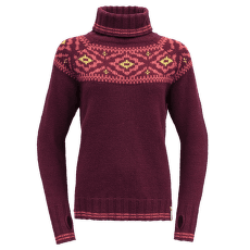 Ona Round Sweater Women 740A Beetroot
