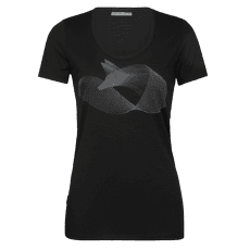 Tech Lite SS Scoop Polar Fox Women Black
