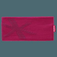 Pletená Merino čelenka C46 pink
