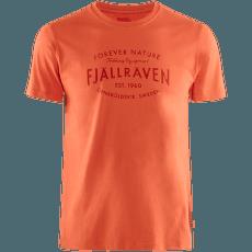 Fjällräven Est. 1960 T-Shirt Rowan Red