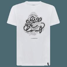 Go Big T-Shirt Men White