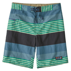 Wavefarer Boardshorts - 19 in Men Fitz Stripe: Pigeon Blue