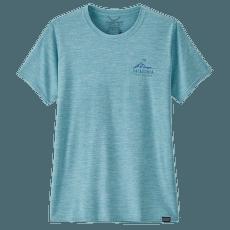 Cap Cool Daily Graphic Shirt Women Ridgeline Runner: Iggy Blue