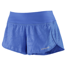 Strider Shorts - 3 1/2 in. Women Kelp Plot: Float Blue
