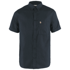 Övik Travel Shirt SS Men Dark Navy