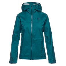 TreeLine Rain Shell Women Sea Pine