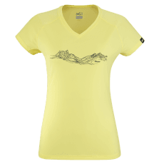 MOUNTAIN LINES T-SHIRT SS Women LIMON