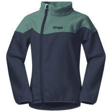 Ruffen Fleece Jacket Kids Navy/Greenlake