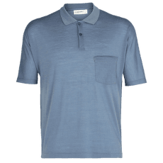 Cool-Lite SS Polo Men GRANITE BLUE