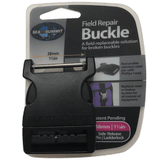 Buckle 38 mm side release 1 PIN Black