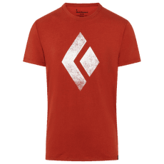 Chalked Up Tee SS Men Red Rock