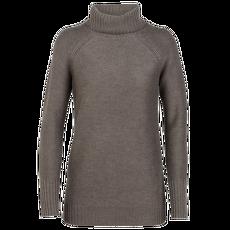 Waypoint Roll Neck Sweater Women TOAST HTHR IBANS_1967