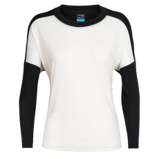 Kinetica LS Crewe Women Snow/Black