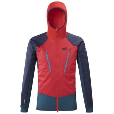 Trilogy Hybrid Alpha Hoodie Men INDIAN/ROUGE
