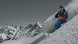 Skialpinismus alyžování