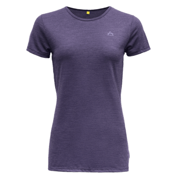 Valldal Tee Women Electric Blue