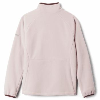 Fast Trek™ III Fleece Full Zip Kids Mineral Pink, Malbec 618