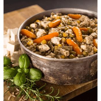 Zeleninové rizoto s tofu