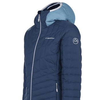 Azaira Down Jacket Women Opal/Pacific Blue
