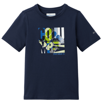 ROAST AND RELAX Graphic SS Tee Boys Collegiate Navy 464