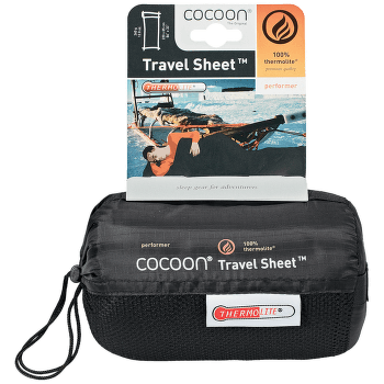 Thermolite Performer TravelSheet volcano black
