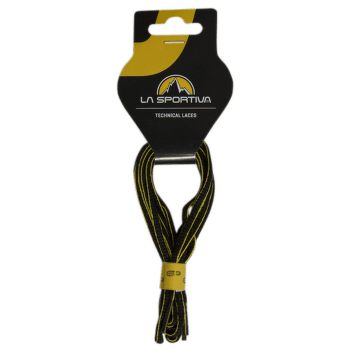 Mountain Running Laces Black/Yellow (Black Yellow)