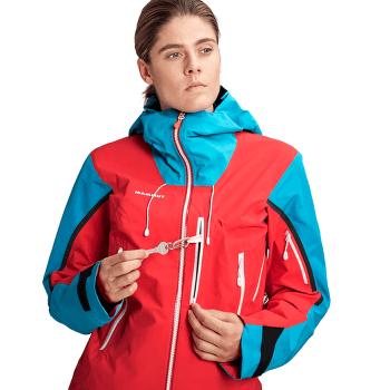 Nordwand Pro HS Hooded Jacket Women (1010-28060) azalea-sky