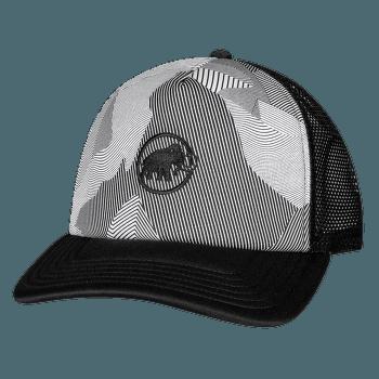 Crag Cap (1191-00063) black-white 0047
